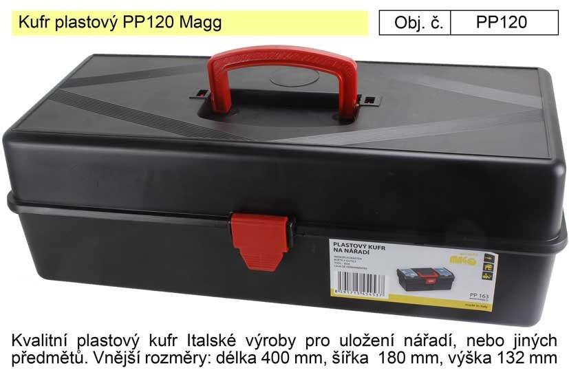 Kufr plastový PP120 Magg