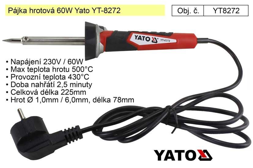 Pájka hrotová 60W Yato YT-8272