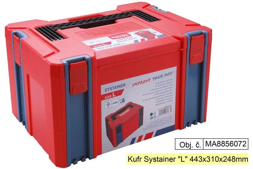 """Kufr, plastový box """"L"""" 443x310x248mm"""