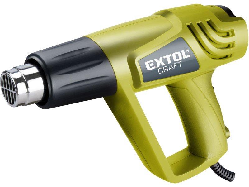 Pistole horkovzdušná, 2000W v kufru EXTOL CRAFT