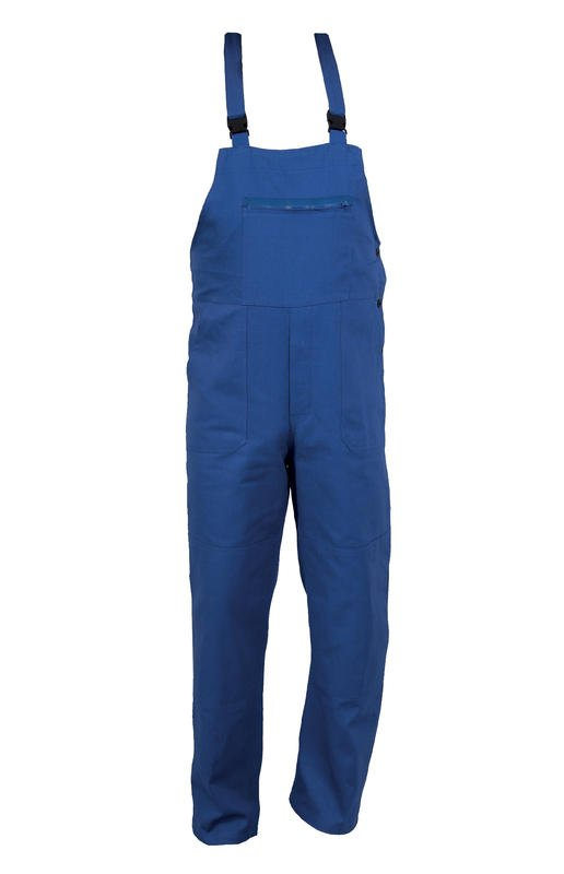 Pracovní kalhoty s laclem FRANTA